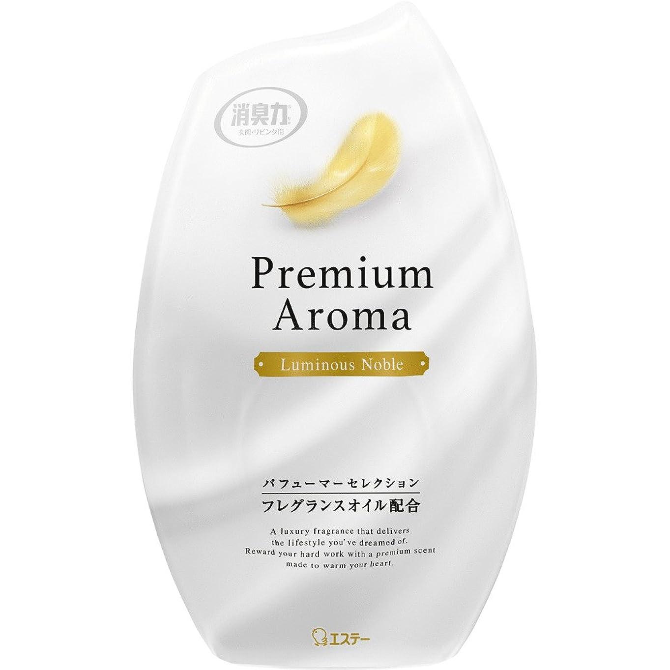 防止おかしい布お部屋の消臭力 プレミアムアロマ Premium Aroma 消臭芳香剤 部屋用 部屋 ルミナスノーブルの香り 400ml