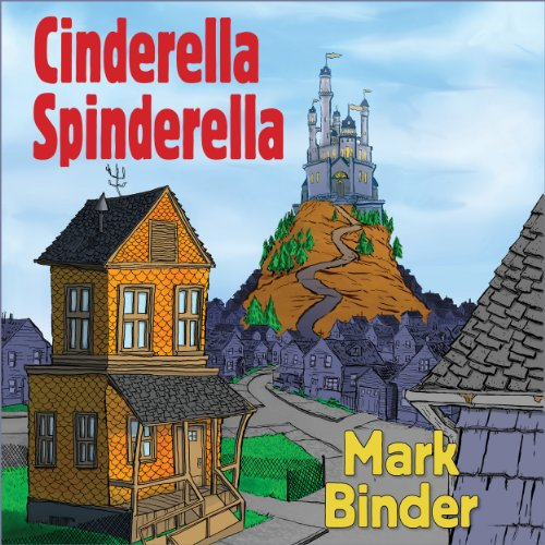 Cinderella Spinderella audiobook cover art