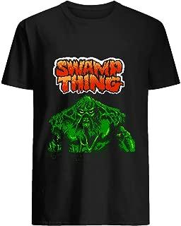 Swamp Thing - Nes - Title Screen 75 Cotton short sleeve T shirt, Hoodie for Men Women Unisex