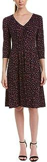 فستان دونا مورجان للنساء قماش الجيرسيه بتصميم ملائم وواسع
