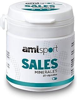 AMLsport - Sales minerales – 25 cápsulas hidratación