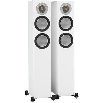 Monitor Audio Silver 200 Floorstanding Speaker Satin White Pair