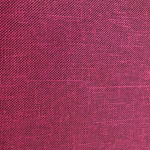 NOVELY® Oxford 330D | 1 lfm | Leinen Look Polyester PU wasserabweisend Mélange Polsterstoff (08 Pink)