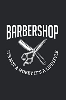 Barbershop Is Not A Hobby It's A Lifestyle: Beard And Barber 2021 Planner | Weekly & Monthly Pocket Calendar | 6x9 Softcov...