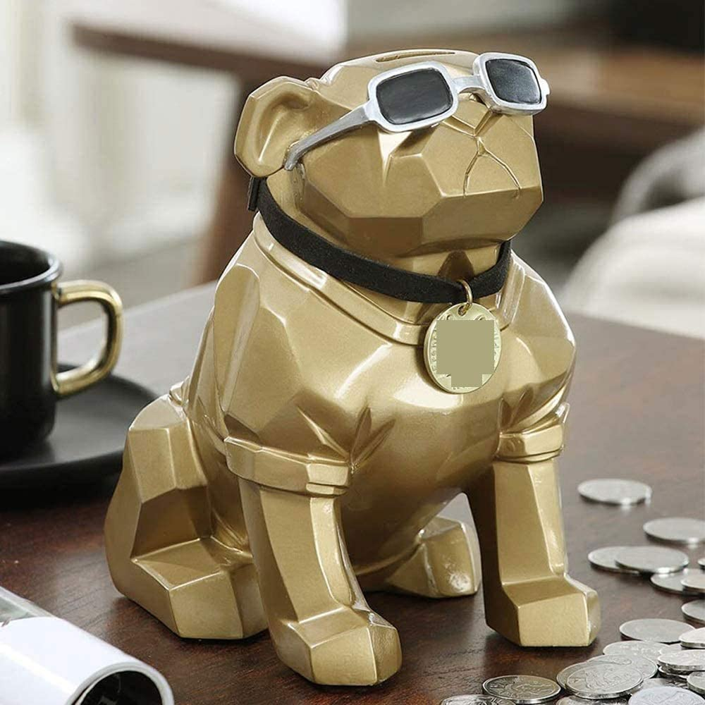 Qin Porcelain Philadelphia Mall Piggy Bank for Cute In a popularity Kids Creative Puppy