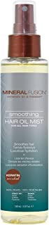 MINERAL FUSION Smoothing Hair Oil Mist for All Hair Types, 4.9 Ounce