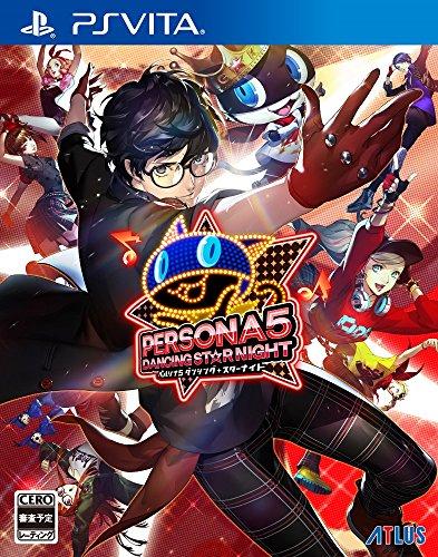 Atlus Persona 5 Dancing Star Night PS Vita SONY Playstation JAPANESE VERSION [video game]