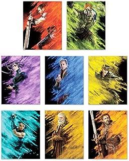 Thor Ragnarok (2017) Prints - Set of 8 Marvel Thor and Hulk Movie Decor Wall Art Photos 8x10