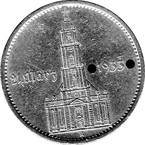 5 Reichsmark Deutschland, 1934 A,
