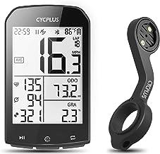 CYCPLUS GPS fietscomputer en beugel, waterdichte fiets snelheidsmeter en kilometerteller, ANT + draadloze fietscomputer Z2...