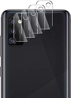 ELYCO [4 Pièces] Caméra Arrière Protecteur pour Vivo X51, [Pas de Flash anormal] 9H Dureté Verre Trempé Anti-Huile/Anti-Ra...