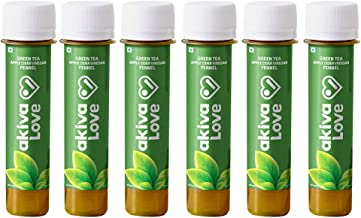 Akiva Superfoods – Green Tea Apple Cider Vinegar Daily Weight Management Shot – Metabolism Booster, 2oz. Re...