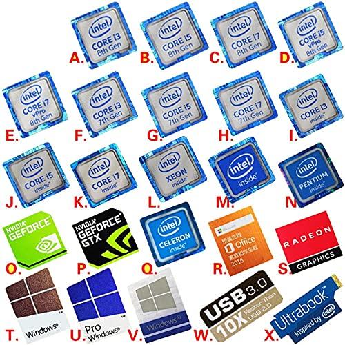 PMSMT Nueva Variedad de Opciones Original 6 7 8th generación i3 i5 i7 celeron Intel xeon pentium procesador Dolby Sticker