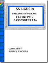 SS LIGURIA PALERMO-NEW ORLEANS-2-22-1910-174 SOULS