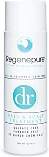 Regenepure – DR Shampoo Hair Loss and Scalp Treatment SLS and Paraben Free, 8 Ounces