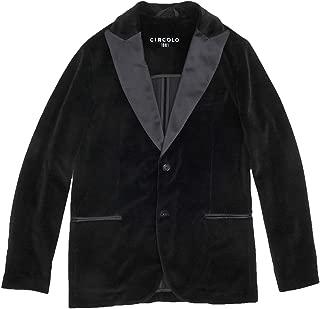 (チルコロ) CIRCOLO 1901 二つ釦ジャケット メンズ シングルジャケット ブラック 正規取扱店