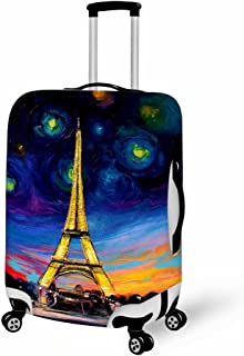 Set of 1 Aibileen PU Leather Luggage Tags Suitcase Labels Bag Travel Accessories