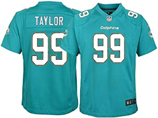 Nike Jason Taylor Miami Dolphins NFL Youth Teal Home Game Jersey