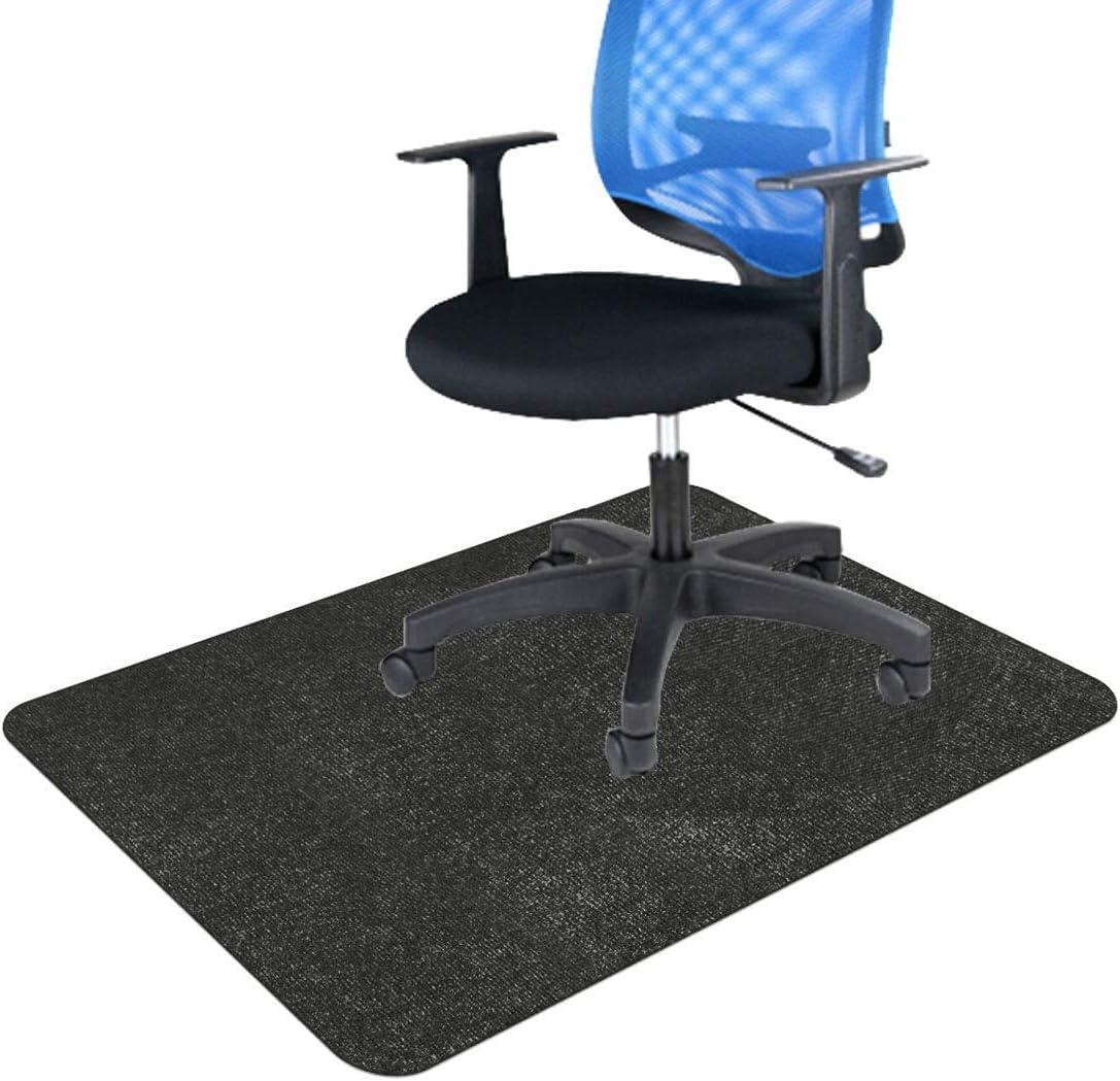 Phoenix Mall JEBBLAS Office Chair 5 ☆ popular Mat Rug Desk Hardwood for