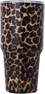 Travel Mug Stainless Steel Creative Color Car Cup European Style Vacuum Beer Mug (30oz) (Color : White) KKGGS (Color : Black)