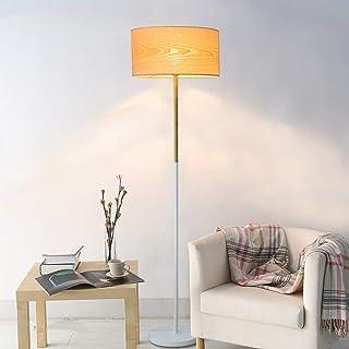 Accueil Équipement Lampadaire Lampadaires Lampadaire durable Lampadaire de salon moderne Lampadaire Copeaux de bois Abat-j...