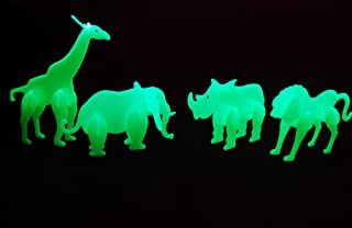 DIRECTGLOW LLC Glow in The Dark 3D Safari Animals (Safari Assortment)
