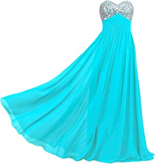 ANTS Formal Crystal Chiffon Prom Dresses Long Evening Gowns