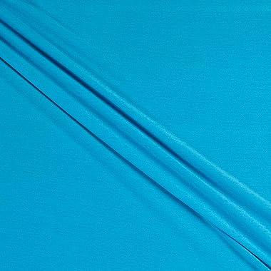 Fabric Merchants Splendid Apparel Tencel Spandex Jersey Knit Fabric, Turquoise