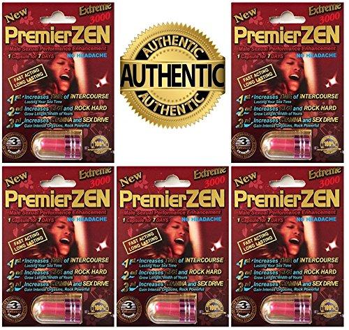 PremierZEN Extreme 3000mg Male Sexual Performance Enhancement %100 AUTHENTIC (5 PInk)