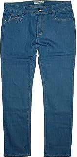 Vidy'l LY-x-J - Pantalones vaqueros elásticos de pierna recta para mujer