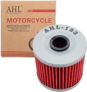 AHL 123 Oil Filter for Kawasaki KLR650 650 1987-2016