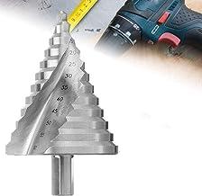 OCGIG 6-60MM Taladro Espiral HSS 4241 Paso Broca/Taladro Pagoda/Taladro Escalera Perforador 12 Pasos