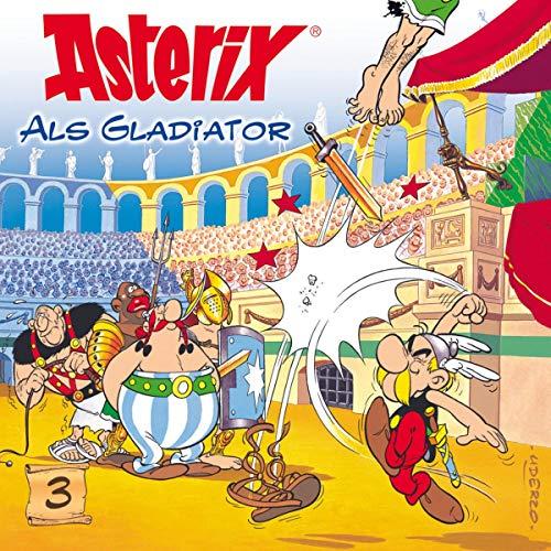 Asterix als Gladiator Titelbild