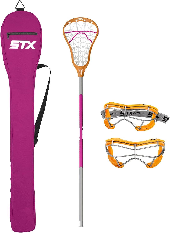 STX Lacrosse Exult 200 Starter Pack, Clementine Punch