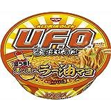 焼そばU.F.O. 濃い濃いラー油マヨ付き醤油まぜそば 113g ×12食