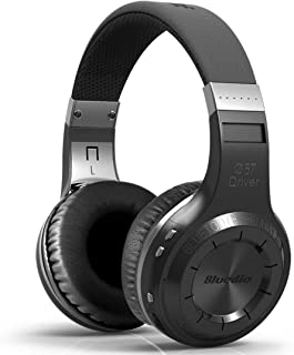 Bluedio HT Turbine Wireless Bluetooth 5.0 Stereo Headphones with Mic (Black)