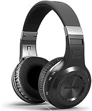 Bluedio H-Turbine Wireless Bluetooth 5.0 Headphones Powerful Bass Over-ear Headset Bulit-in Microphone-Retail package Global release (Black)