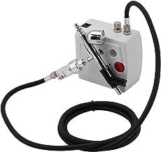 Kit de compresor de aerógrafo de precisión, acción dual,