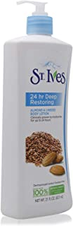 St. Ives 24Hr Deep Restoring Almond And Linseed Body Lotion 21 oz, Pack of 1