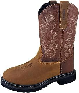 Mens Buffalo Leather Wellington Boots by Smoky Mountain 12 D US