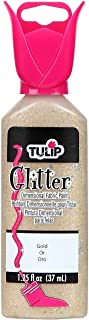 Tulip Dimensional Fabric Paint 1-1/4 Ounces-Glitter-Gold