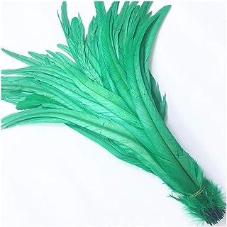 Aqiong Jubaren7 Plume Haute Queue cm 40-45 16-18 Pouces Artisanat Plume Naturel vêtements de décoration de Mariage Accesso...