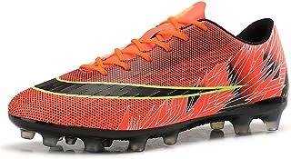 Pojkars fotbollsskor, tonåringar halksäkra slitstarka fotbollsskor, andningsskor utomhus fotbollsskor