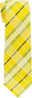 Retreez Stylish Tartan Plaid Check Woven Boy's Tie - 8-10 years