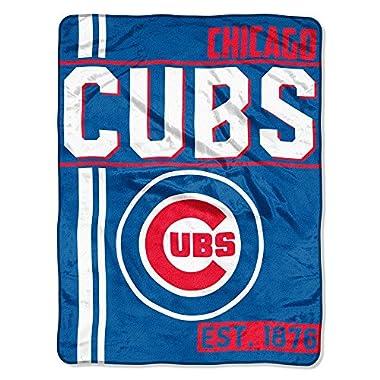 MLB Chicago Cubs Super Plush Throw Blanket (D132)