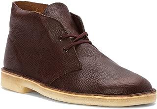clarks desert mali rust leather