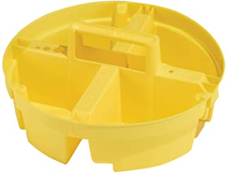 Bucket Boss Bucket Stacker Small Parts Tray in Yellow, 15051