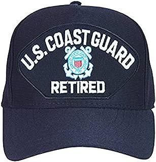 U.S. Coast Guard Retired Hat / USCG Insignia Baseball Cap 9270