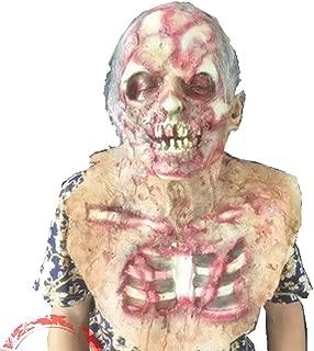 HUIMEIS AU Variation Devil Mask Resident Evil Zombie Vampire Zombie Headdress Halloween Haunted House Mask (Color : A)