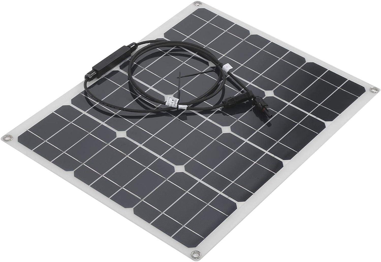 Mxzzand Monocrystalline Solar Ranking TOP8 Panel Max 44% OFF IP65 Dual Por USB Waterproof